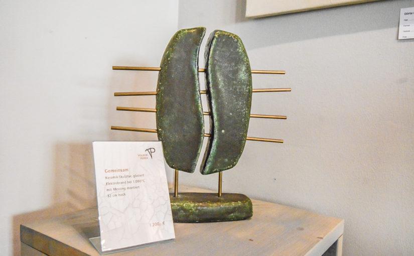 Gallerie BOart in Bad Oldesloe – Keramik Künstler Volker Persy aus Trittau stellt aus
